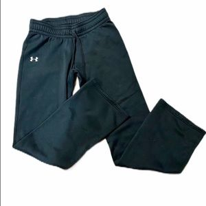 Semi Fitted Black Under Armour Sweat Pants